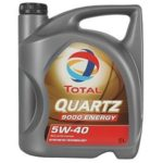 Масло TOTAL QUARTZ 9000 ENERGY 5W40