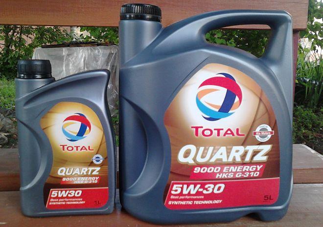 Total quartz 9000 energy hks 5w30 208l
