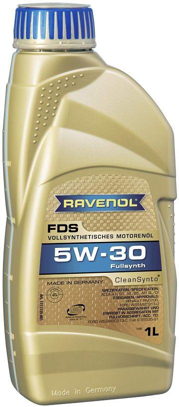 Ravenol fds sae 5w 30 отзывы