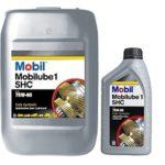 Масло для МКПП Mobil Mobilube 1 SHC 75W90