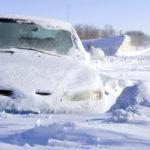 Распространенные ошибки водителей при движении в снегопад