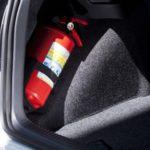 Новые требования к комплектации и размещению огнетушителя в автомобиле