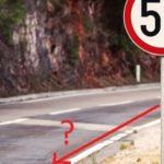 На каком расстоянии начинает действовать знак ограничение скорости?