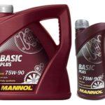 Масло MANNOL Basic Plus 75W90 GL 4