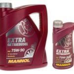 Масло MANNOL Extra Getriebeoel 75W90 GL-4 GL-5