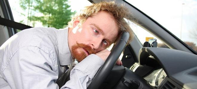 похмелье у водителя