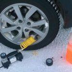 Сколько атмосфер должно быть в шинах зимой?