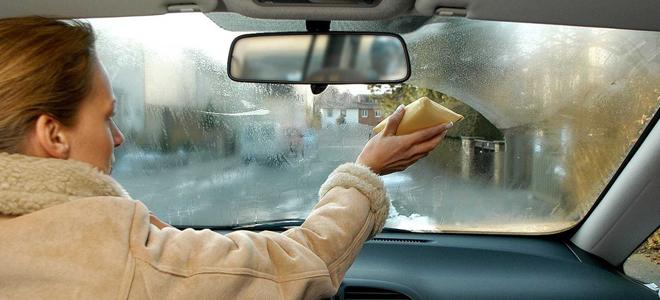 запотело лобовое стекло на трассе