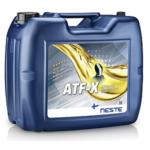 Трансмиссионное масло Neste ATF X