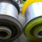 Какие сайлентблоки выбрать, резиновые или полиуретановые?