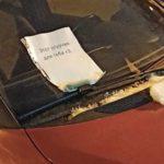 Вышел с утра во двор, обнаружил на лобовом стекле соленый огурец с запиской. Что это значит