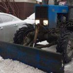 Ночью авто повредила снегоуборочная машина. Как быть в такой ситуации