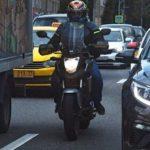 Власти планируют запретить мотоциклистам езду между рядами